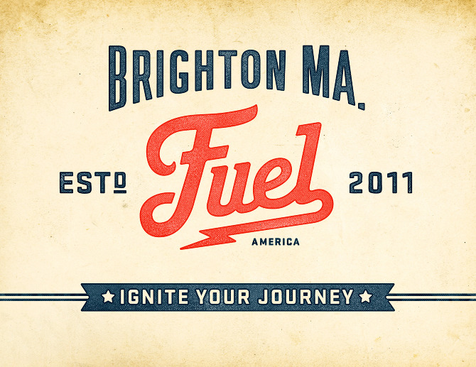 fuel Branding Ascendancy: Fuel Coffee Shop in Brighton, MA.