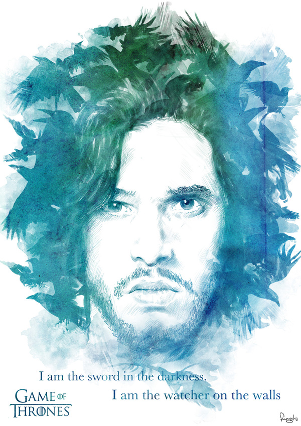 Game of Thrones Illustrations by Juan Carlos Andrades (2)