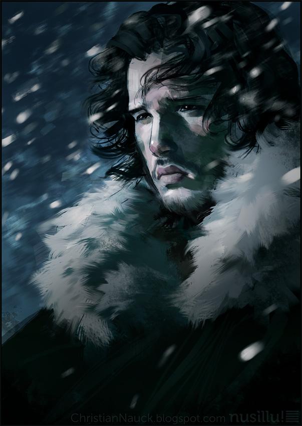 Jon Snow by Christian Nauck