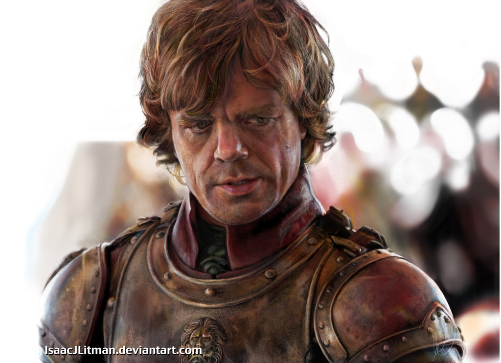 game of thrones  peter dinklage by isaacjlitman d5h4s411 30 Gorgeous Game of Thrones Fan Art Works