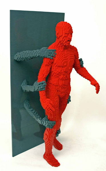 grasp The Art of the Brick: Outstanding LEGO Artworks by Nathan Sawaya