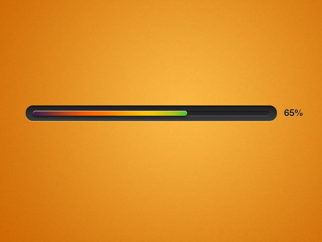 halloween progress bar1 50 Inspiring Progress Bar Designs