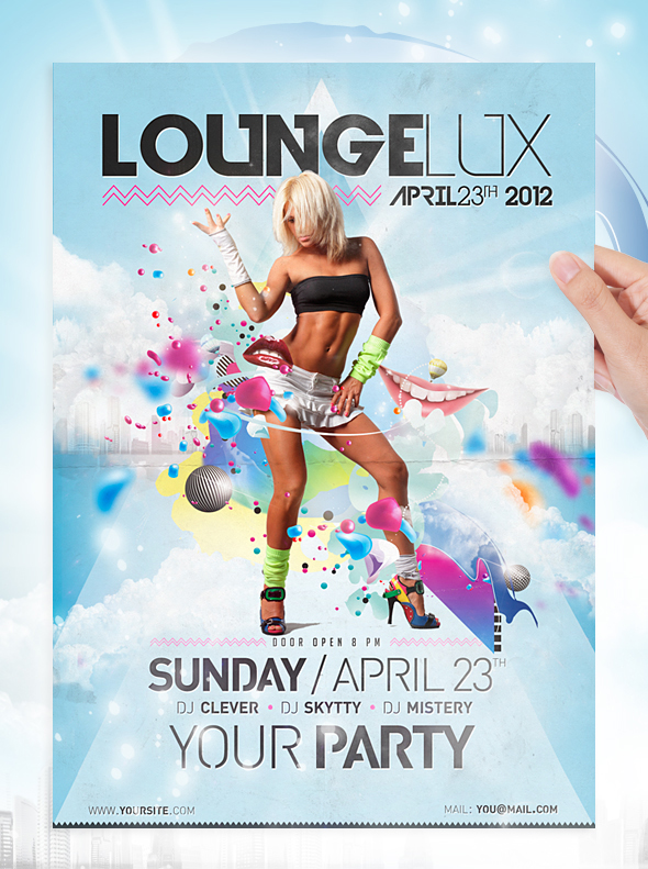 Lounge-Party-Flyer