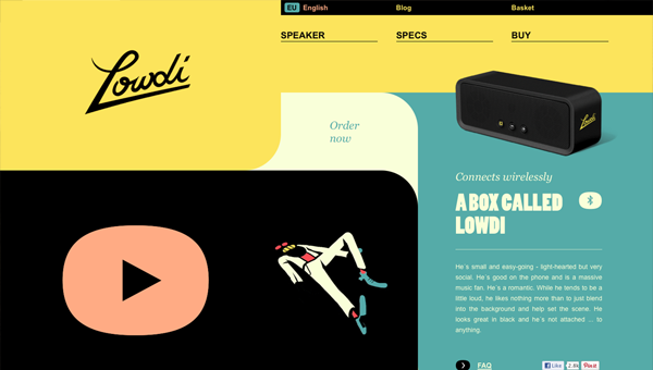 lowdi1 35 Nice Examples of Flat Web Design