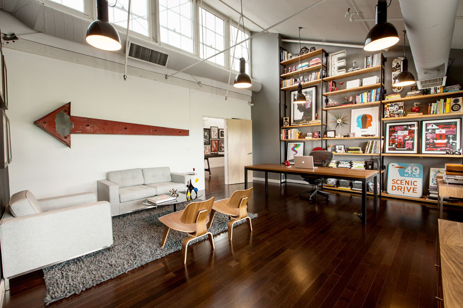 mattson creative office 10 Old Warehouse Repurposed into a Dream Office