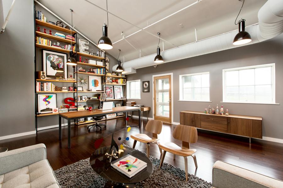 mattson creative office 9 Old Warehouse Repurposed into a Dream Office