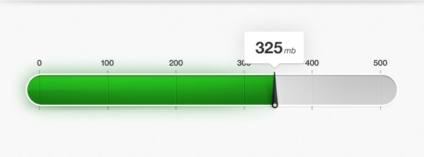 meter full1 50 Inspiring Progress Bar Designs