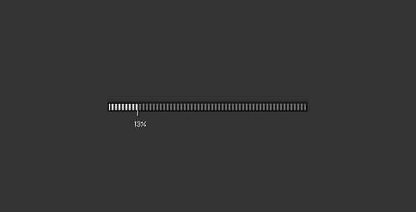 Minimal loading bar by Alex Pankratov