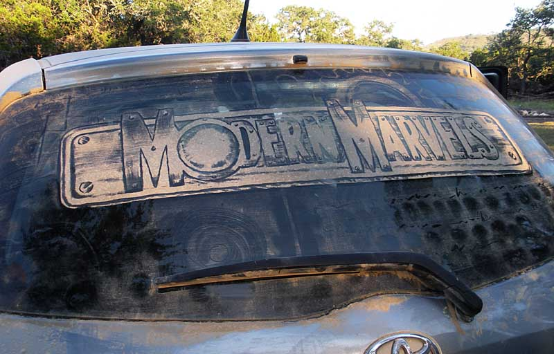 modernmarvels1 20 Dirty Car Artworks by Scott Wade