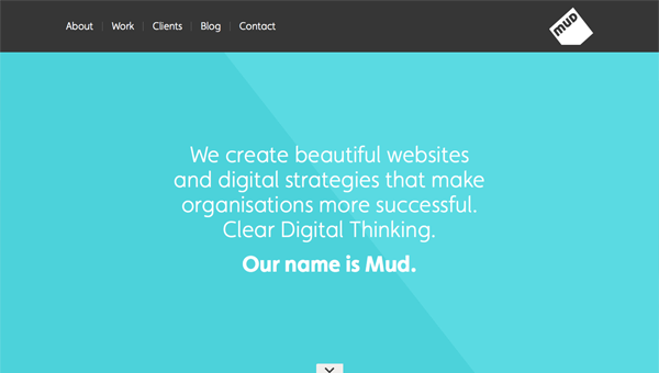 mud1 35 Nice Examples of Flat Web Design