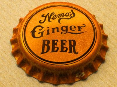Nemos Ginger Beer Cap by David Cran