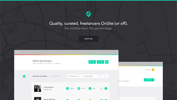 onsite1 35 Nice Examples of Flat Web Design