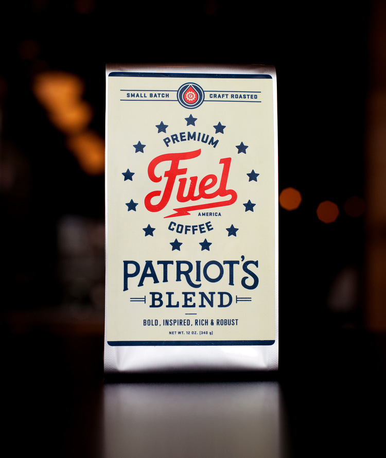 patriot Branding Ascendancy: Fuel Coffee Shop in Brighton, MA.