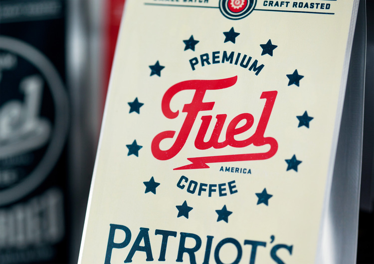 patriotcrop3 Branding Ascendancy: Fuel Coffee Shop in Brighton, MA.