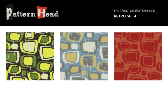 patternhead35 promo1 45 Free Retro and Vintage Design Resources
