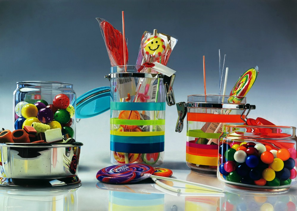 photorealistic paintings by roberto bernardi 1 Photorealistic Still Life Paintings by Roberto Bernardi