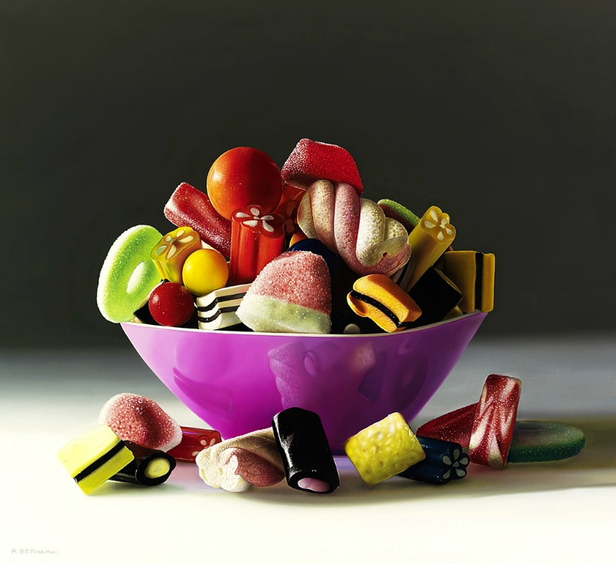 photorealistic paintings by roberto bernardi 10 Photorealistic Still Life Paintings by Roberto Bernardi