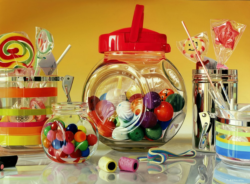 photorealistic paintings by roberto bernardi 11 Photorealistic Still Life Paintings by Roberto Bernardi