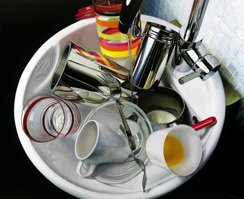 photorealistic paintings by roberto bernardi 9 Photorealistic Still Life Paintings by Roberto Bernardi
