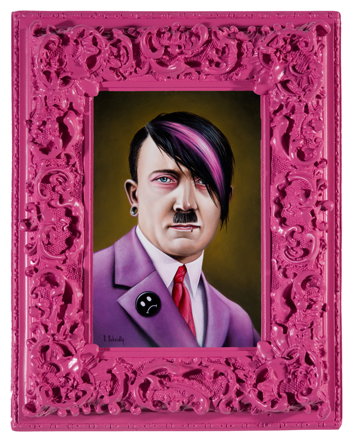 pink series by scott scheidly 10 Feminine Mogul Portraits by Scott Scheidly