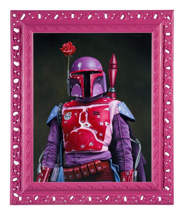 pink series by scott scheidly 8 Feminine Mogul Portraits by Scott Scheidly