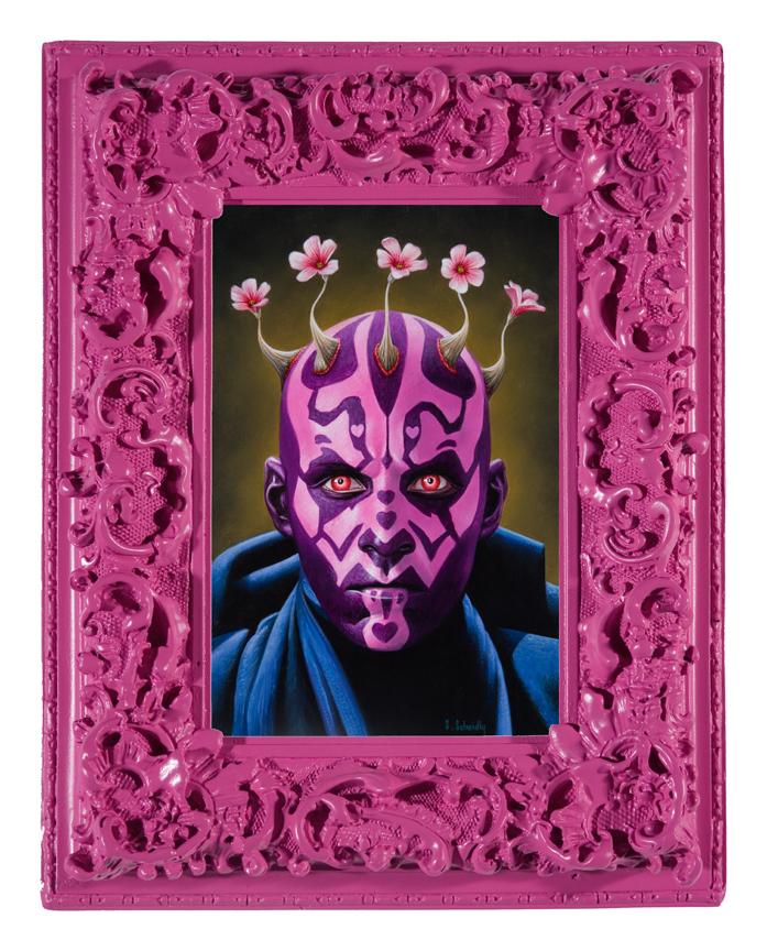 pink series by scott scheidly 9 Feminine Mogul Portraits by Scott Scheidly