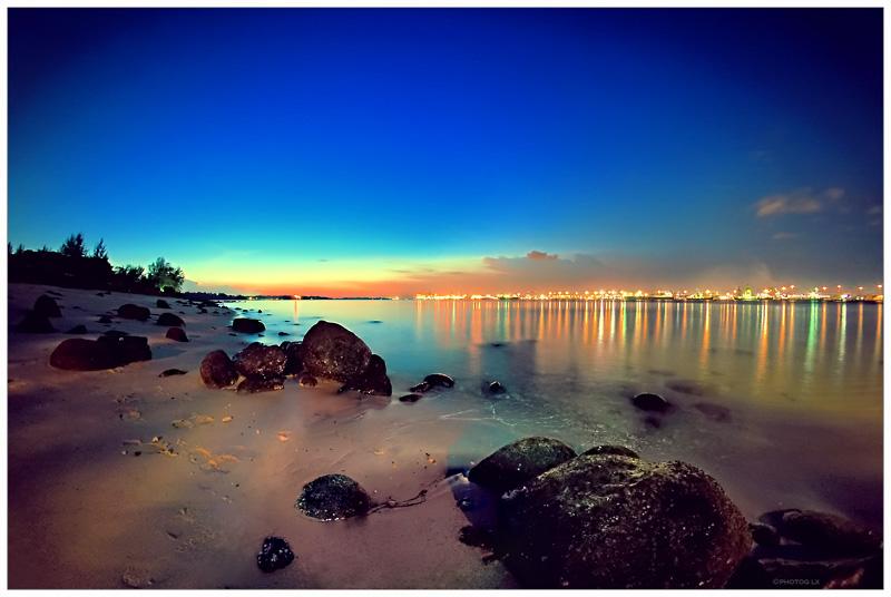 Punggol Beach Sunset by ~lxrichbirdsf