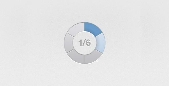 radial progress bar ui design1 50 Inspiring Progress Bar Designs