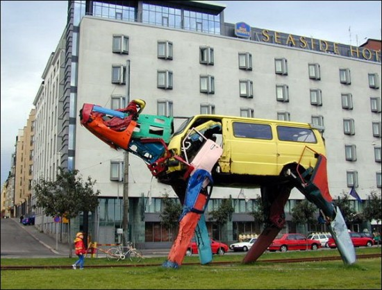 Recycled-Car-Art