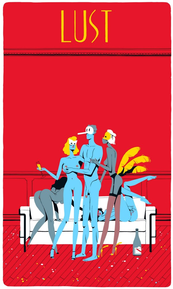 Seven Deadly Sins by Vincent Mahe (6)
