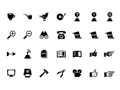 Retro Icon Set by Gidsy
