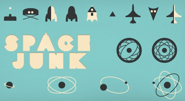 space junk 45 Free Retro and Vintage Design Resources