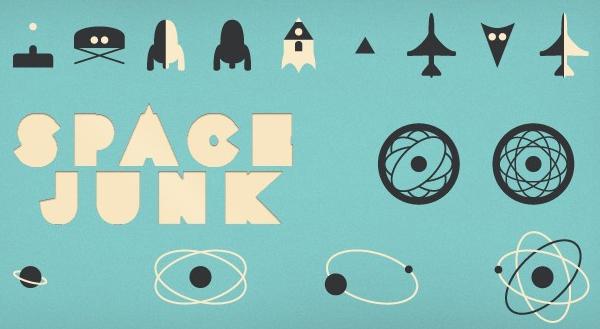 Space Junk Icon Set