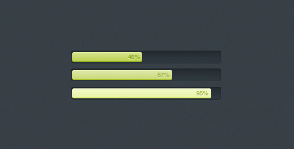 sqaure progress bar user interface element large1 50 Inspiring Progress Bar Designs