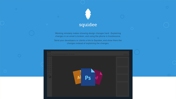 squidee1 35 Nice Examples of Flat Web Design