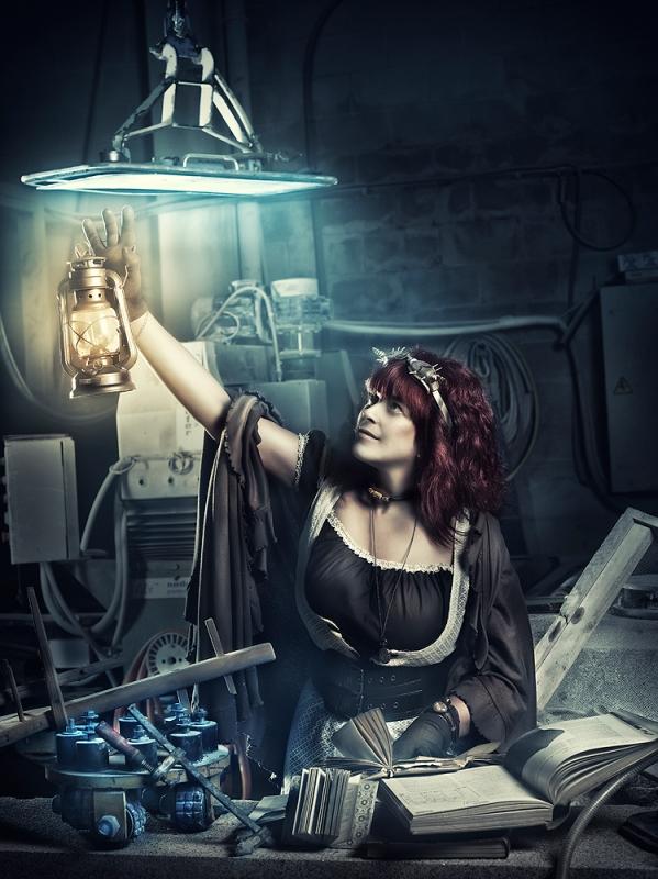 Steampunk dreams by Rebeca Saray