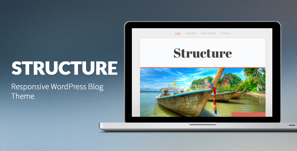 structure large preview1 25 Excellent Personal WordPress Themes