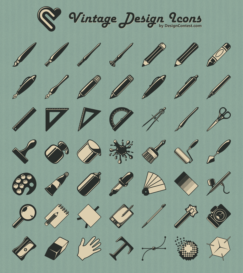 style1finalpreview1 45 Free Retro and Vintage Design Resources