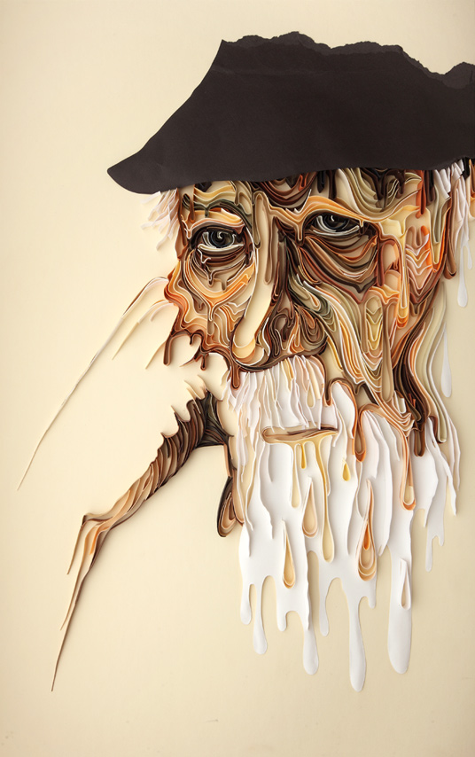 superb craftsmanship paper artwork by yulia brodskaya 3 Superb Craftsmanship: Paper Artwork by Yulia Brodskaya