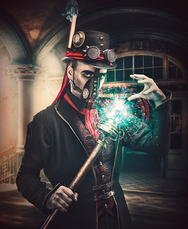 The Magician by Rebeca Saray