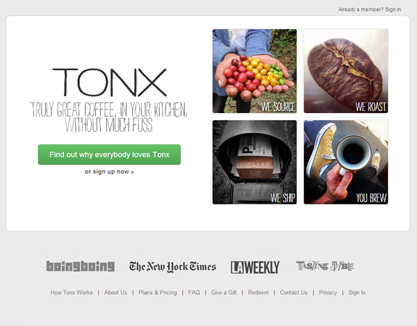 tonx 25 Beautiful and Inspiring Websites Using Bootstrap