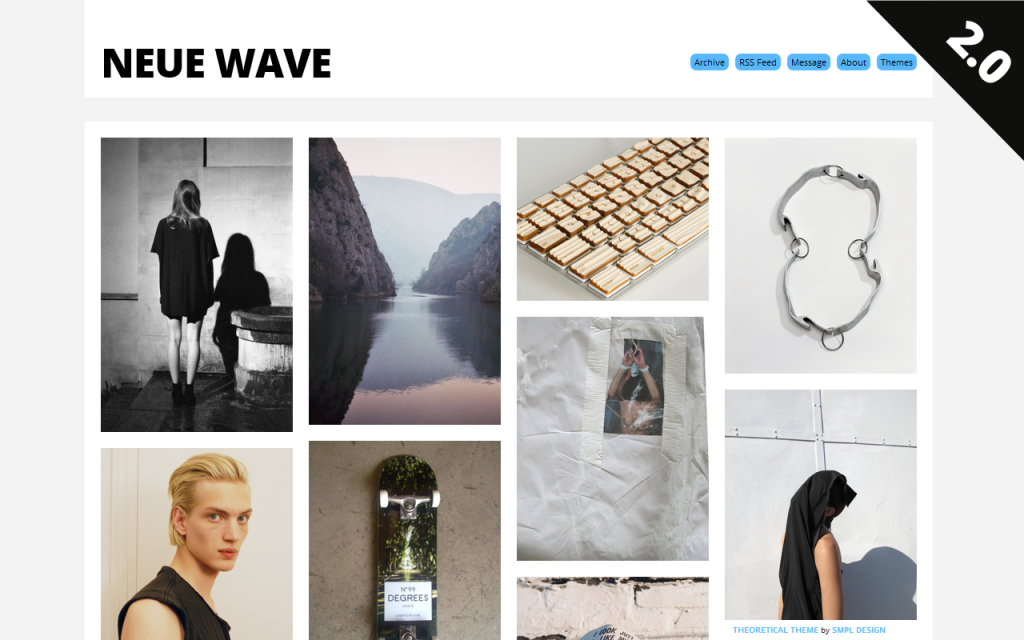 tumblr lpycbgshbn1qhn6eho1 12801 45 Free Grid Based Tumblr Themes