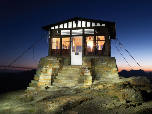 Fire Lookouts of Montana by Tom Persinger