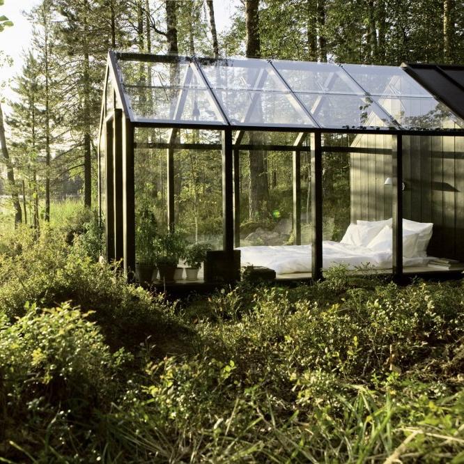 Finnish Garden Sleeping Shed