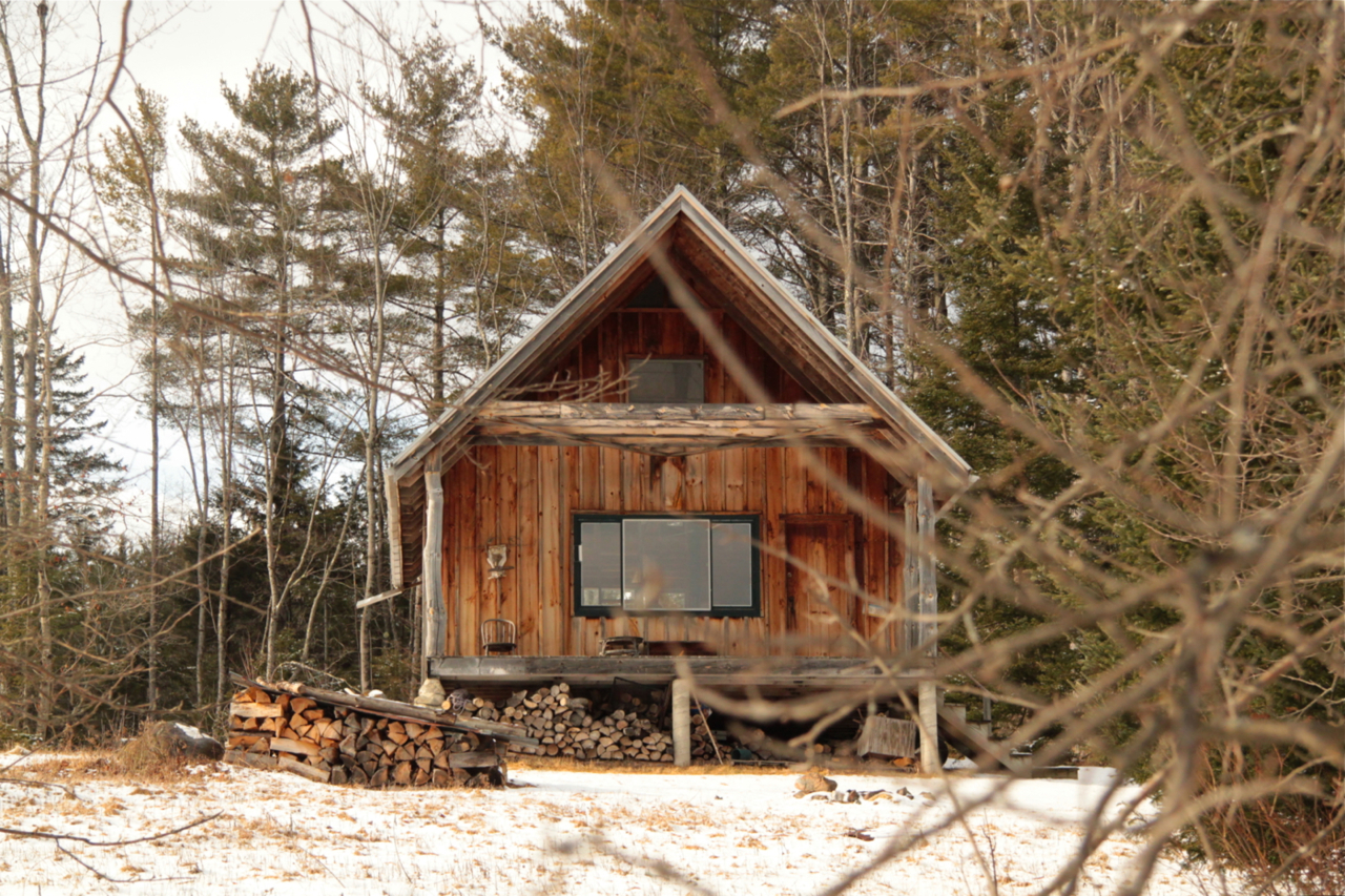 Cabin in the White Mountains, Franconia, New Hampshire.