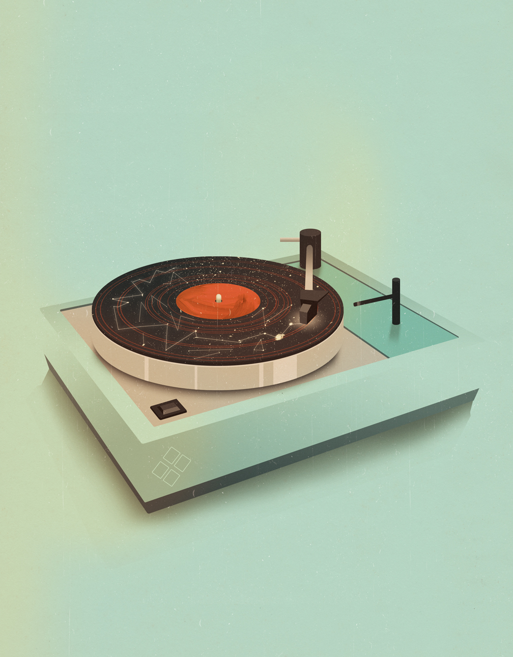 tumblr m3b43da5le1rv4c7ho1 12801 Vintage Mid Century Illustrations by Jack Hughes