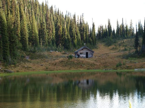 Cabin near Revelstoke, British Columbia.