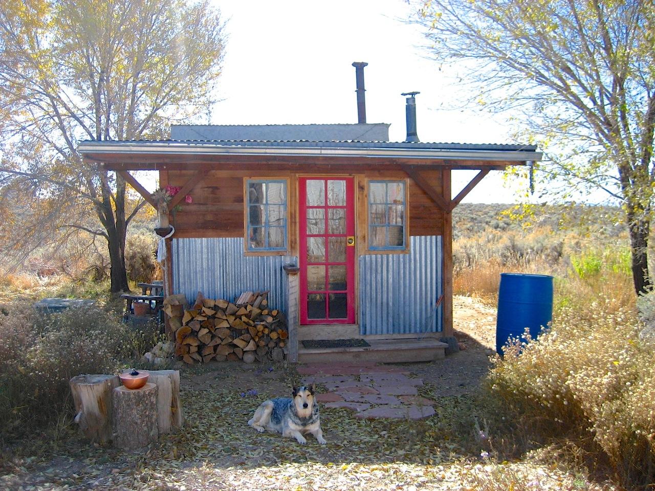 A homestead near Taos, New Mexico.