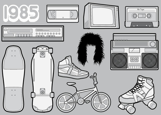 1985 – Your Favourite 80s Icons