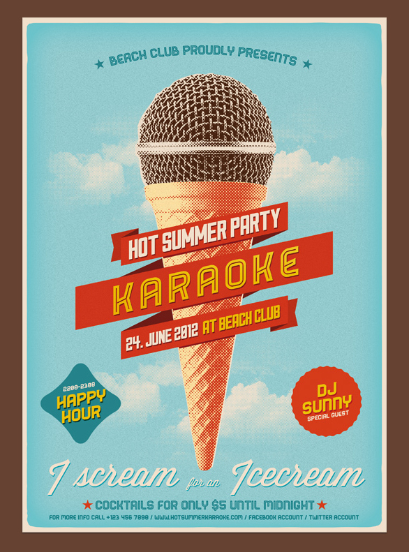40 creative party and club flyers inspirationfeed